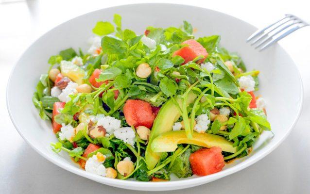 Salad đậu nành sẽ là món ăn thích hợp cho tối ngày thứ 2